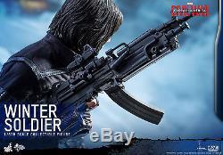 MARVEL Captain America Civil War WINTER SOLDIER Action Figures Hot Toys MMS351