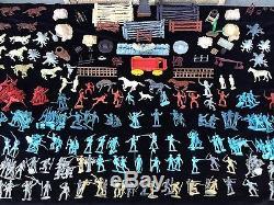 Massive Rare Marx Toy Soldier Lot Fort Apache Revolutionary War CIVIL War Etc
