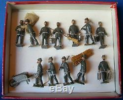MIGNOT 54mm LEAD SOLDIER US CIVIL WAR CSA WORK PARTY