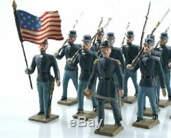 MIGNOT C. B. G AMERICAN CIVIL WAR UNION MARCHING 12 figs