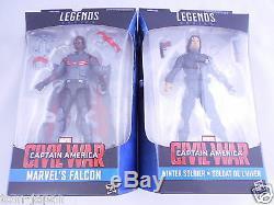 Marvel Legends Civil War Captain America 2.5 Falcon Winter Soldier Japan F/S