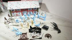 Marx Sears Heritage Blue and Grey Playset Civil War 1970s
