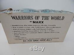 Marx Warriors Of The World Boxed Am. Civil War Union Soldiers With General Grant