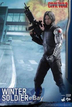 Movie Masterpiece Captain America Civil War WINTER SOLDIER 1/6 Figure Hot Toys