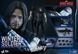 Movie Masterpiece Civil War / Captain America Winter Soldier 1/6 scale figure
