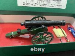 Northcoast Miniatures Civil War Civilian & Cannon 54mm Set# 151A