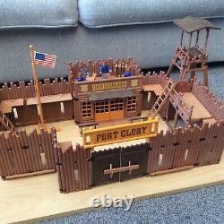 Playmobil 3806 Fort Glory Playset US Cavalry, Western, Civil War, Soldiers LOOK
