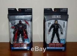 RARE Walmart Hasbro 6 Marvel Legends Civil War Falcon & Winter Soldier Figures