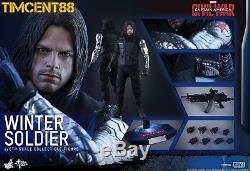 Ready Hot Toys Captain America Civil War 1/6 Winter Soldier Bucky Sebastian Stan
