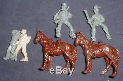 Replicants Lot 1/32 27 American Civil War Figs 2 Horses Good Sets