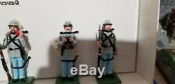 Ron Wall American Civil War Set 32 Confederate Infantry at Ease New Boxed RARE