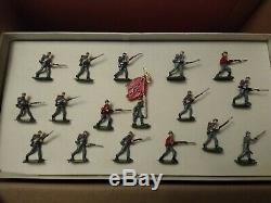 SAE 30mm American Civil War Confederate Infantry In Action Set #1060