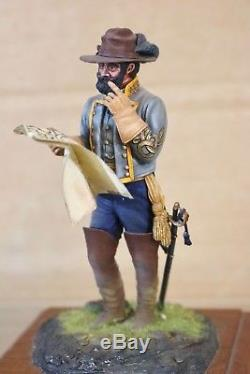 STADDEN SERIES 77 90mm AMERICAN CIVIL WAR CONFEDERATE GENERAL MUSEUM QUALITY
