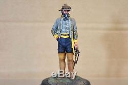 STADDEN SERIES 77 90mm AMERICAN CIVIL WAR CONFEDERATE OFFICER MUSEUM QUALITY