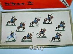S. A. Sculptured Models Civil War Union Cavalry Charging Soldiers