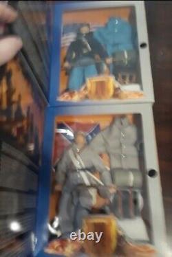 Set of 2 Hasbro 1997 GI Joe Civil War Set. Potomac Union & Virginia Confederate