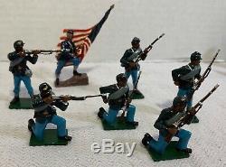 Shenandoah Miniatures Am Civil War 54th Massachusetts Set Lead