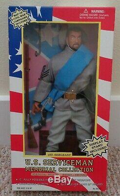 Sotw Soldiers Of The World CIVIL War Lot Of 9 USA Private Sergeant General Kmart