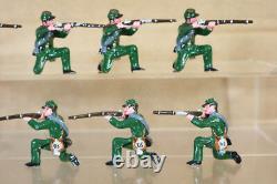 TROPHY MINIATURES AMERICAN CIVIL WAR 8 UNION SOLDIERS KNEELING FIRING pjm