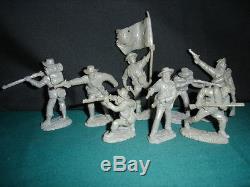 TSSD 1/32 1863 CONFEDERATE FIRING LINE AMERICAN CIVIL WAR SET #1 BRAND NEW