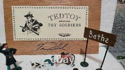 Ted Toy Soldiers American Civil War Camp Life TTSS4a Tug Of War Union Army RARE