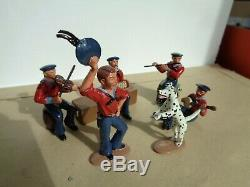 Ted Toys, Civil War Navy, camp life, music band, banjo dog soldiers, lead, xx