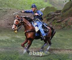 The Collectors Showcase CIVIL War Union 3ucs 3 Piece Union Cavalry Set