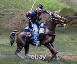 The Collectors Showcase CIVIL War Union Cs01063 Union Cavalry Attacking Sword