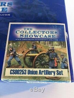 The Collectors Showcase Civil War Soldiers CS00253 Union Artillery Set