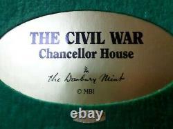 The Danbury Mint Civil War Chancellor House May 1863 sculpture