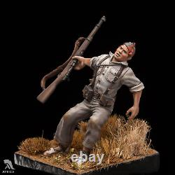 The Falling Soldier at Spanish Civil War Painted Toy Miniature Pre-Sale Art
