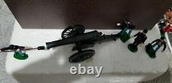 The Redoubt Toy Soldiers American Civil War Union Siege Gun & Crew Boxed RARE