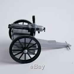 Timpo TipTops #44059 Wild West US Civil War Gatling Gun + Confederate Soldiers