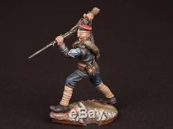 Tin Soldier, 54mm, Attack of the Kornilov shock regiment. Civil War in Russia