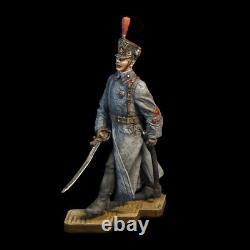 Tin Soldier, 54mm, Civil War in Russia, 9 figures