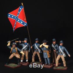 Tin Soldiers, Set the Confederate army. The civil war in the United States