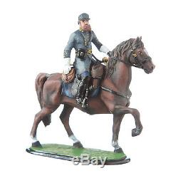 Tin Toy Soldier Civil war Confederate General Stonewall Jackson mounted #5.55