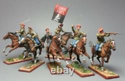 Tin soldier, General Kornilov's cavalry, the Russian Civil War. The White Army