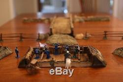 Toy Soldiers Civil War Bridge Playset great with Conte, Barzso, Marx and TSSD