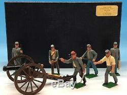 Tradition Of London American CIVIL War Confederate Gun Battery Boxed 54mm