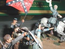 Troiani American Civil War Lee's Texans Figure Set MIB 2003 54mm Ptd Metal ACW