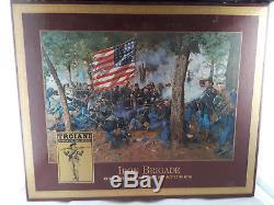 Troiani Iron Brigade Historical Miniatures Civil War 7 Figures In Box Soldiers