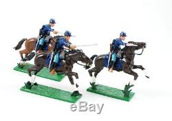 Trophy Miniatures Acw11c American CIVIL War 7th Michigan Cavalry