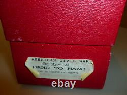 Trophy miniatures toy soldiers american civil war hand to hand nr. 2