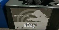UK Hot Toys Winter Soldier Civil War MMS351 Figure Avengers Endgame Buck Barnes