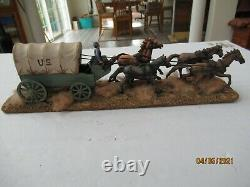 Union Supply Wagon 1861-1865 1/32 Scale American Civil War Scratch built