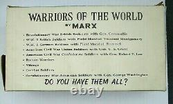 Vintage 1960's Warriors of the World Rare Box Set of Civil War Union Soldiers