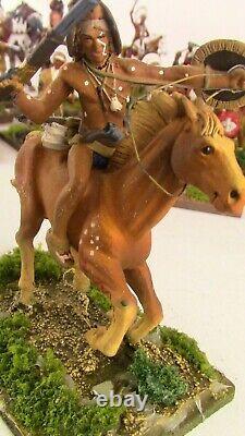 Vintage 1/32-54mm Metal, American Indian Wars Figures. Wargaming, Civil War