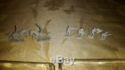 Vintage 1/72 Scale Civil War Soldiers, Cannons & Calvalry, 500+ Pieces