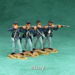 Vintage Art of War Fight'n Irish 4 Pc Add-on Set Britains #17438 Civil War Union